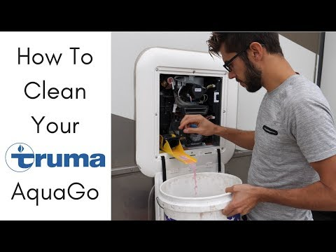 How to Clean and Decalcify the Truma AquaGo On-Demand RV Water Heater