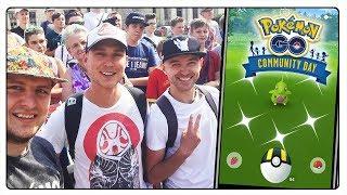 SHINY LARVITAR - COMMUNITY DAY W POKEMON GO (GOŚ. KUSHI, HIKOMIKOS)