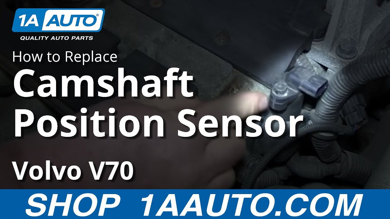 hight resolution of how to replace camshaft position sensor 00 07 volvo v70