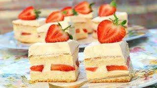 How To Make Strawberry and Cream Sponge Cake