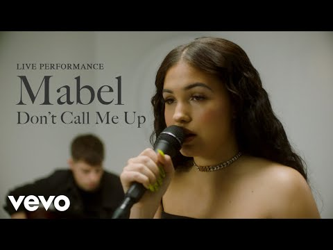 """Mabel - """"Don't Call Me Up"""" Live Performance   Vevo"""
