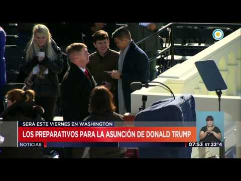TV Pública Noticias - Preparativos para la asunción de Trump
