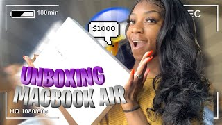 UNBOXING 📦 MY BRAND NEW 2020 MACBOOK AIR!! | RETAIL PRICE & SPECS ✨