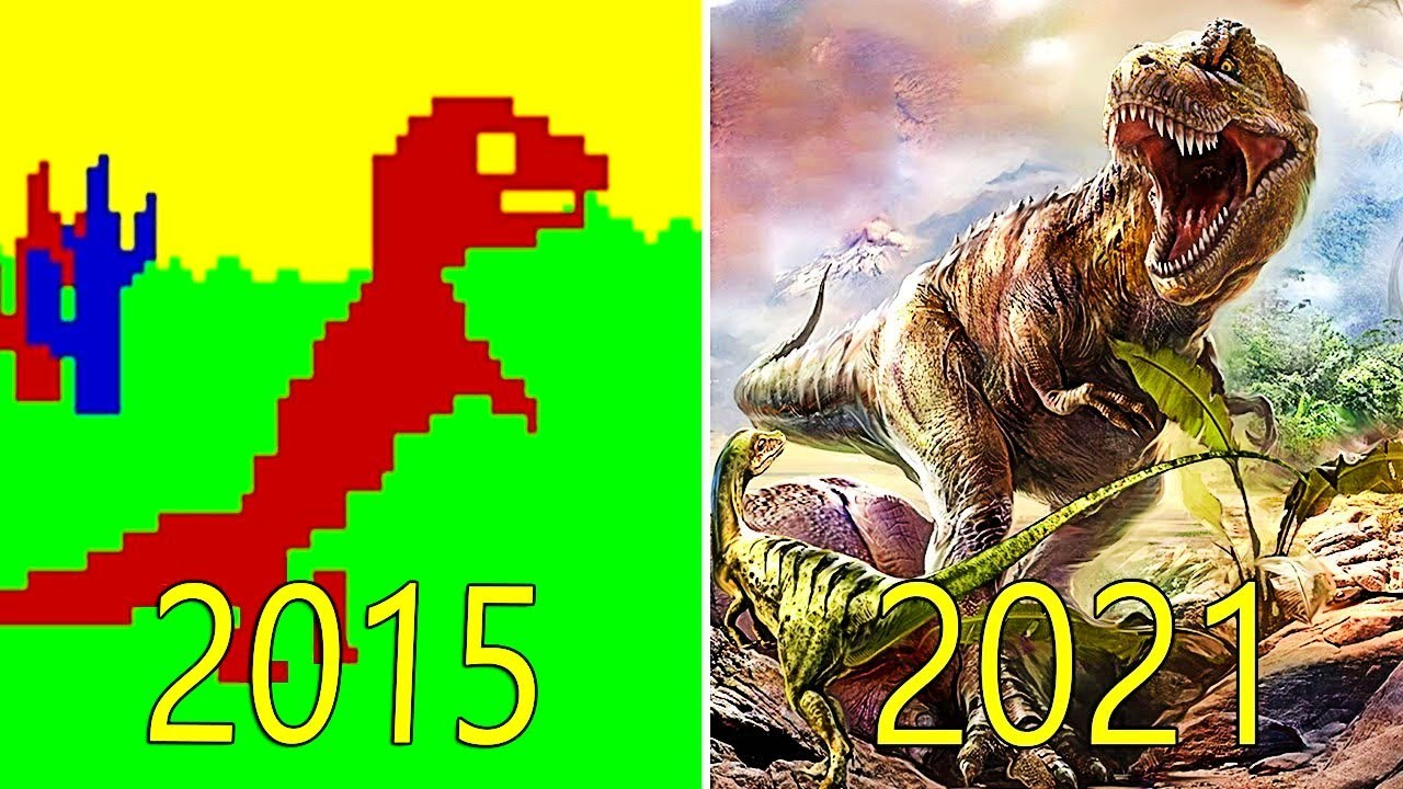 L'ÉVOLUTION DE ARK Survival Evolved 2015-2021