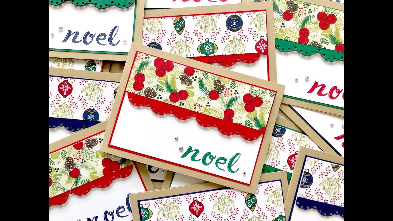 Tuesday Tutorials - Bulk Christmas cards with the Stamparatus ...