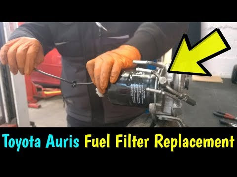 Toyota Auris D4D Fuel Filter Replacement - How To DIY