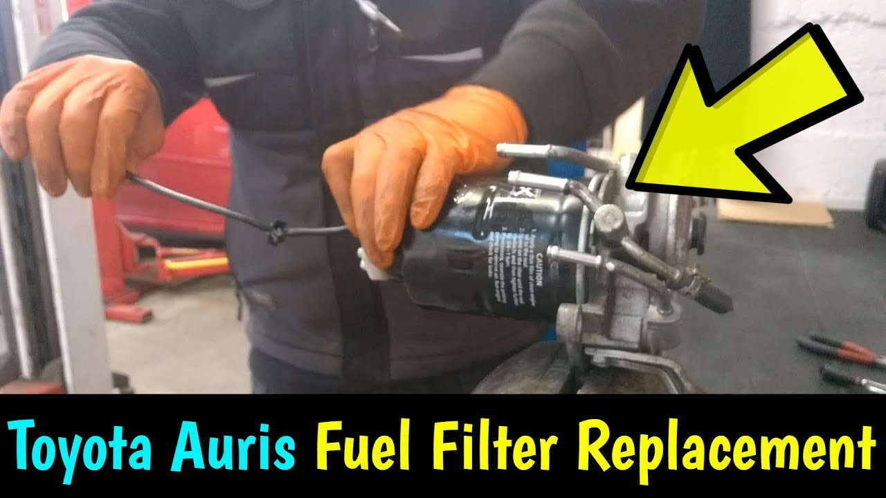 Toyota Auris D4d Fuel Filter Replacement