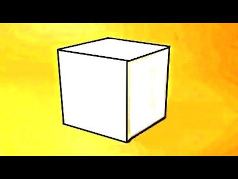 �� Как ЛЕГКО сделать объёмный КУБ из бумаги А4 своими руками