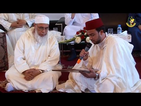ختم الطالب المقداد الكيرش ( للقراءات السبع )على الشيخ محمد السحابي بمدرسة ابن القاضي للقراءات