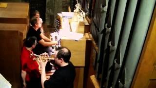 """Trompete und Orgel: Johann-Sebastian Bach, Choral """"Nun danket alle Gott  aus Kantate BWV 79"""