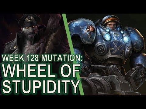 Starcraft II Co-Op Mutation #128 Wheel of Misfortune [UGH.]