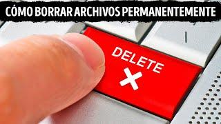 Cuando eliminas archivos, en realidad no desaparecen