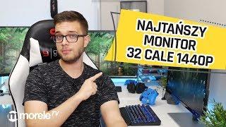 Najtańszy monitor 32 cale 1440p na morele.net | Recenzja AOC Q3279VWFD8