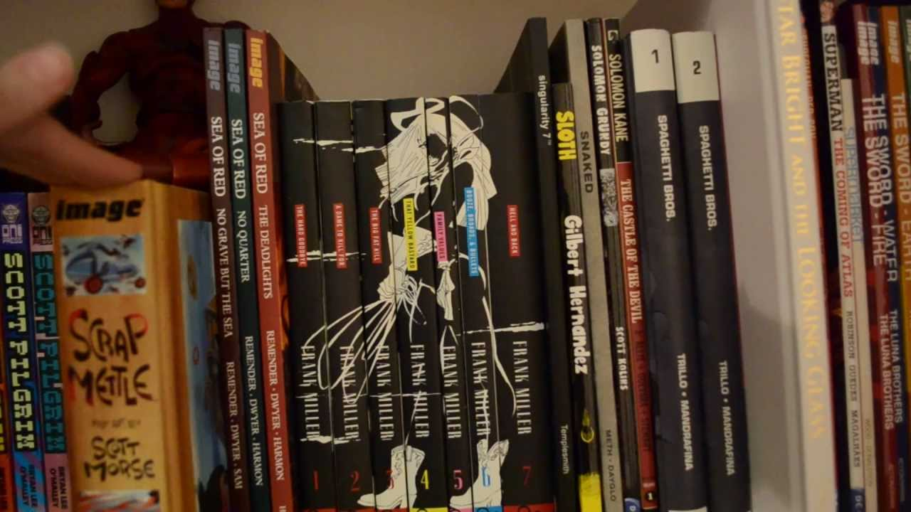 My Graphic Novel Collection Part 4 - YouTube