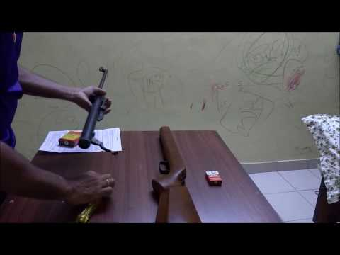 SDB APACHE SE INDIAN AIR RIFLE 0.177 (UNBOXING)