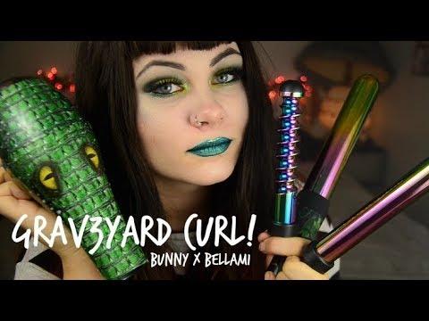 GRAV3YARDGIRL x BELLAMI HAIR - Grav3yard Curl! - YouTube ebd064381ea2