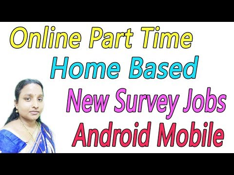 Online Part Time Home Based New Survey Jobs in Tamil