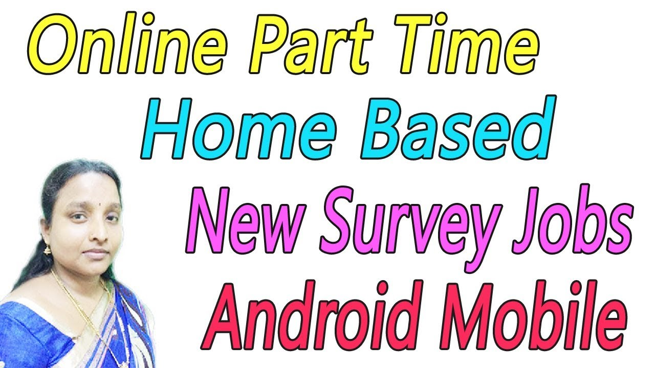 Online Part Time Home Based New Survey Jobs in Tamil - YouTube
