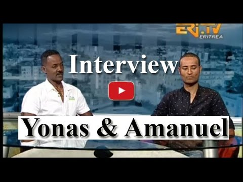 Eritrean Sport Interview With Aseltani Yonas Zekarias and Cyclist Amanuel Ghebrezgiher   Eritrea TV