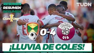Resumen y goles   Granada 0-4 Qatar   Copa Oro 2021   Grupo D