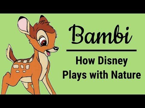 Bambi (1942): How Disney Plays with Nature