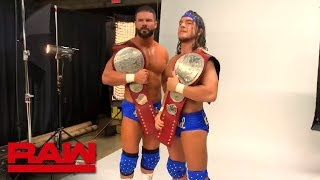 Bobby Roode & Chad Gable's Raw Tag Team Championship photoshoot: Raw Exclusive, Dec. 10, 2018