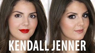 Kendall Jenner Drugstore Makeup Tutorial - 2 Looks In 1 | Sharon The Makeup Artist