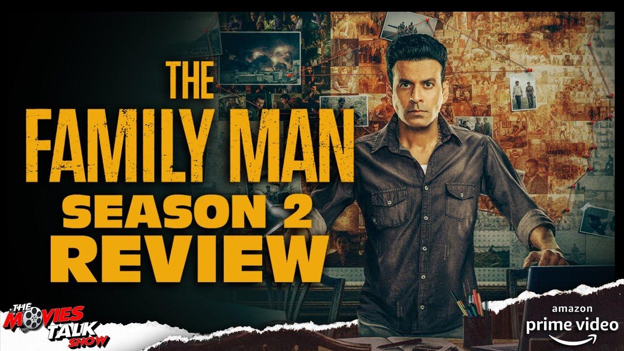 THE FAMILY MAN : Season 2 Review | Manoj Bajpayee | Samantha |Amazon Original