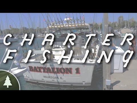 Lake Michigan Charter Fishing - Battalion 1 Sport - Fishing Charters
