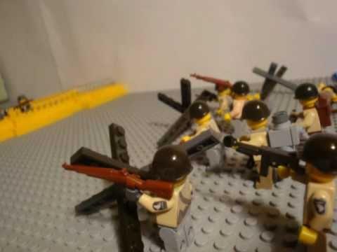 Cost U Less >> Lego WW2 D-day - YouTube
