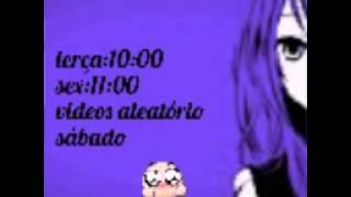 Horários terça: 10:00 sex:11:00 sábado videos alea