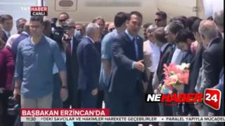 Başbakan Binali Yıldırım Memleketi Erzincan'da