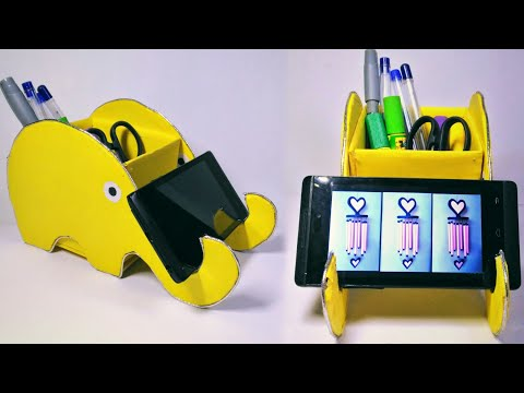 Mobile stand home made // Mobile stand craft ideas // mobile stand kase banaye
