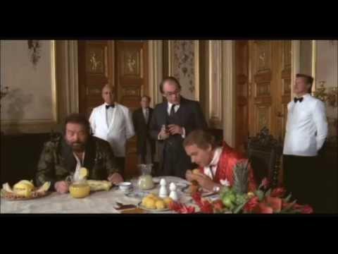 Bud Spencer e Terence Hill  Non c'è due senza quattro  Colazione