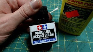 Review Tamiya Panel Line Accent Color