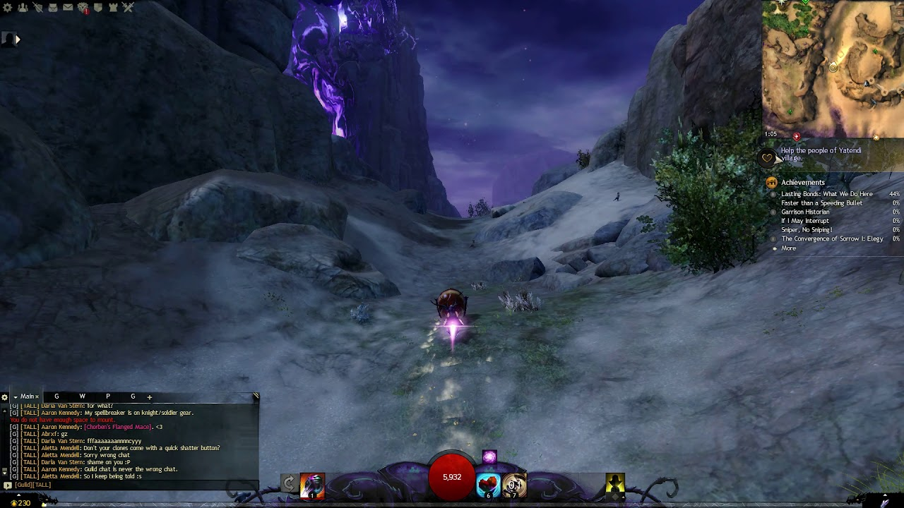Guild Wars 2 (Jumping Puzzle) - Displaced Vizier's Tower (Jahai Bluffs)