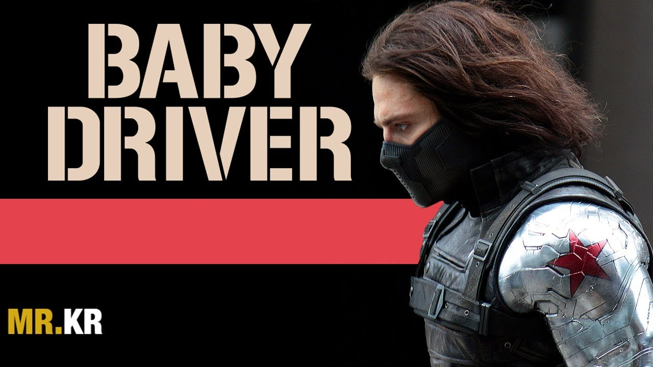 Captain America The Winter Soldier Baby Driver Style