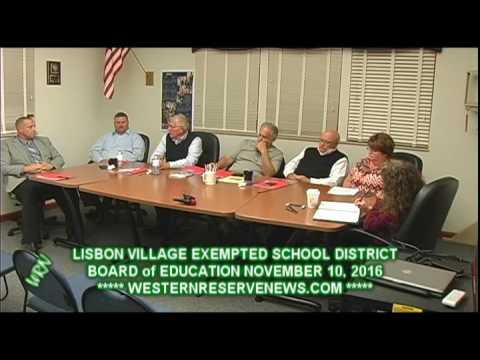 LISBON SCHOOLS PONDERS LEVY FAILURE