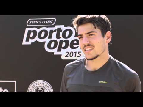 Porto Open 2015 - Flash Interview com João Domingues