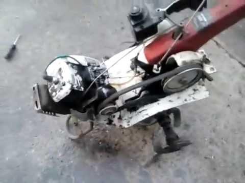 motoculteur motobineuse iseki ks280 youtube