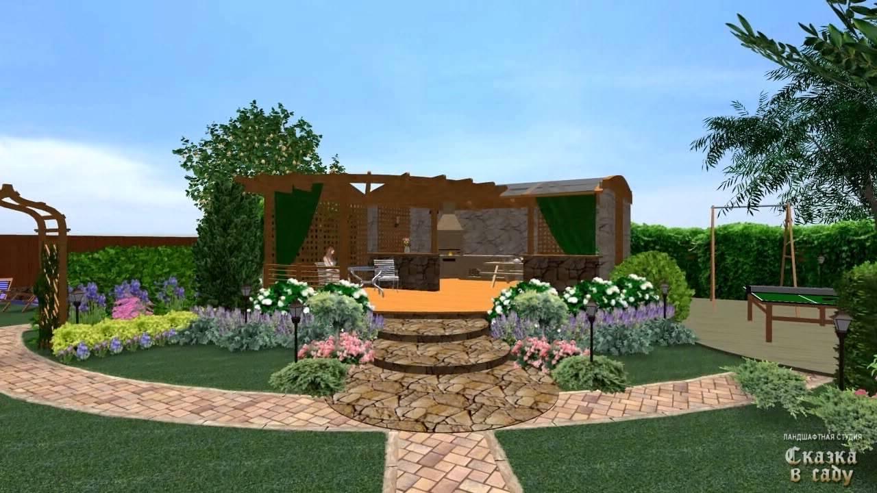 Ландшафтный дизайн 3д проектирование онлайн