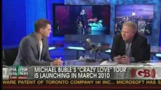 Michael Bublè with Glenn Beck Part 2