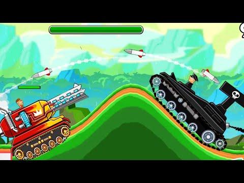 Xe tăng xe tăng hoạt hình bắn nhau đại bác tiêu diệt xe tăng bạo chúa