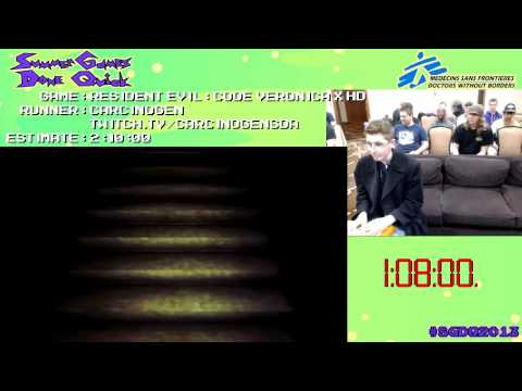 Resident Evil Code: Veronica X HD :: Speed Run (2:00:20) #SGDQ 2013 [PS3]