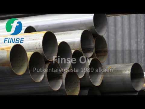 Finse Oy - Huippuosaamista putkentaivutuksessa