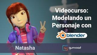 Videocurso: Modelando un Personaje 3D con Blender
