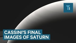 Last images of Saturn from NASA's Cassini spacecraft
