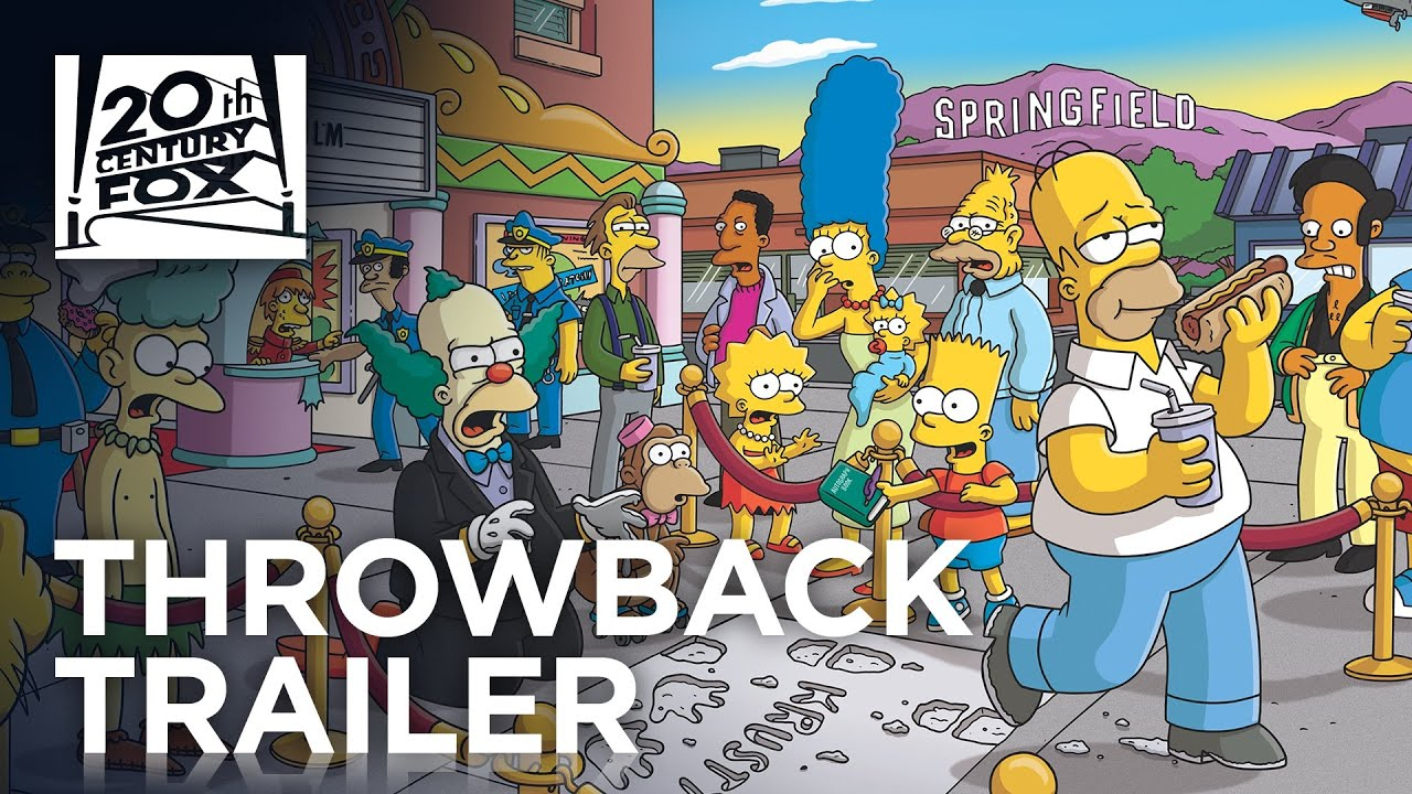 The Simpsons Movie Tbt Trailer 20th Century Fox Youtube