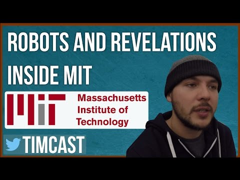 CHECKING OUT NEW ROBOTS INSIDE MIT