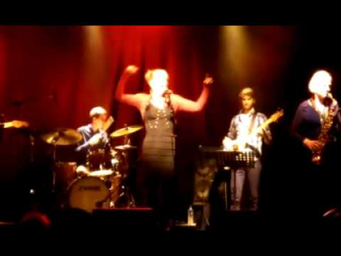 Give Me an Inch Hazel O'Connor 11th Oct 2012 Leicester Square Theatre